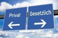 GKV und PKV sind zwei unterschiedliche Versicherungssysteme