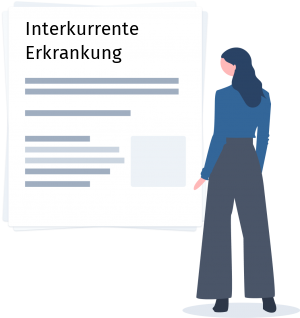 Interkurrente Erkrankung