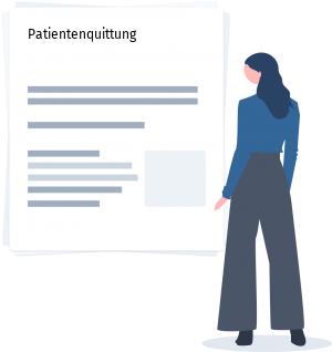 Patientenquittung