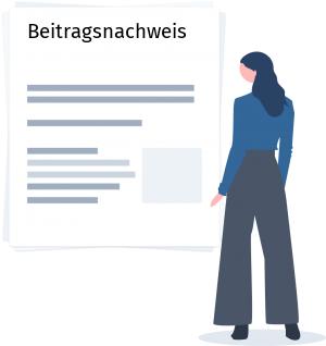 Beitragsnachweis