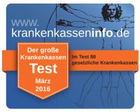 Krankenkassen Test