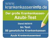 Azubi-Krankenkassentest 06/2016