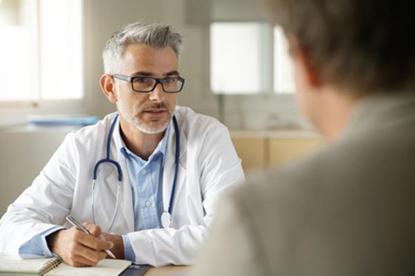 Konsultation beim Hausarzt