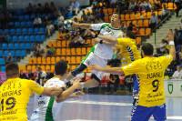 Die AOK engagiert sich stark mit Werbung im Handballsport