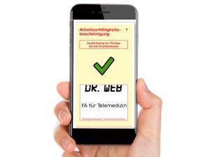 Krankenschein-App,  based on Artwork of Jannoon 028 / freepik