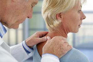 Osteopathie-Behandlung