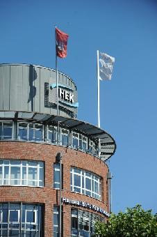 Gebäude der HEK-Hauptverwaltung in Hamburg