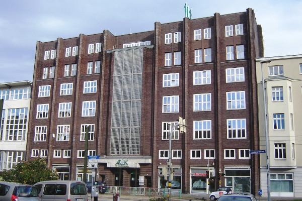 AOK - Zentrale in Magdeburg, Sachsen-Anhalt