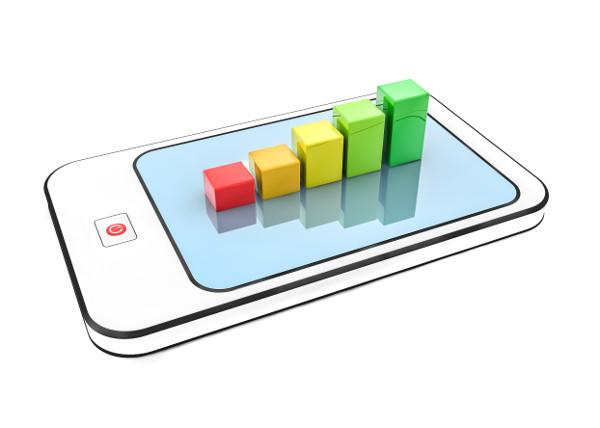 Testranking von Krankenkassen-Apps