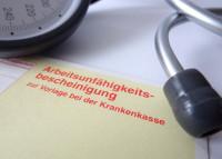 Krankenschein (AU-Bescheinigung)