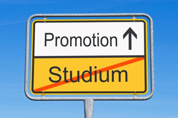 Promotion und Krankenversicherung