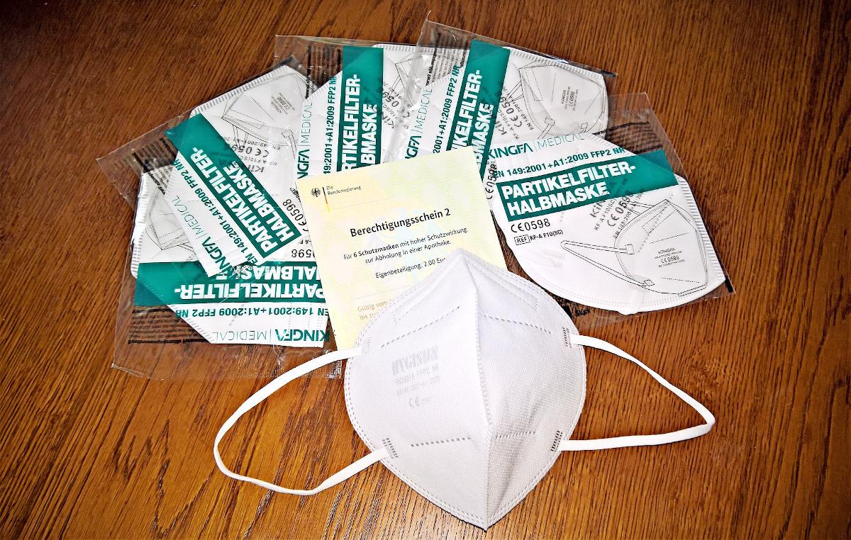 Wer bekommt kostenlos FFP2 Masken von der Krankenkasse?