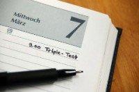 Ein Triple-Test wird von einigen Krankenkassen als Zusatzleistung bezahlt