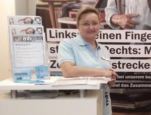 Jana Kemmel, Ausbildungsleiterin bei der mhplus BKK,