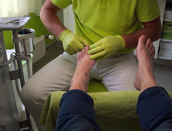 medizinische Fußpflege (Podologie)