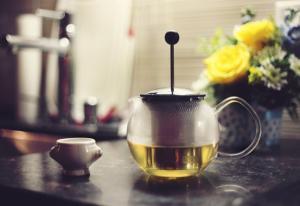 Grüner Tee,