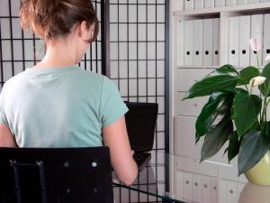 Rückengesundheit im Job , (c) Cornelia Menichelli / pixelio