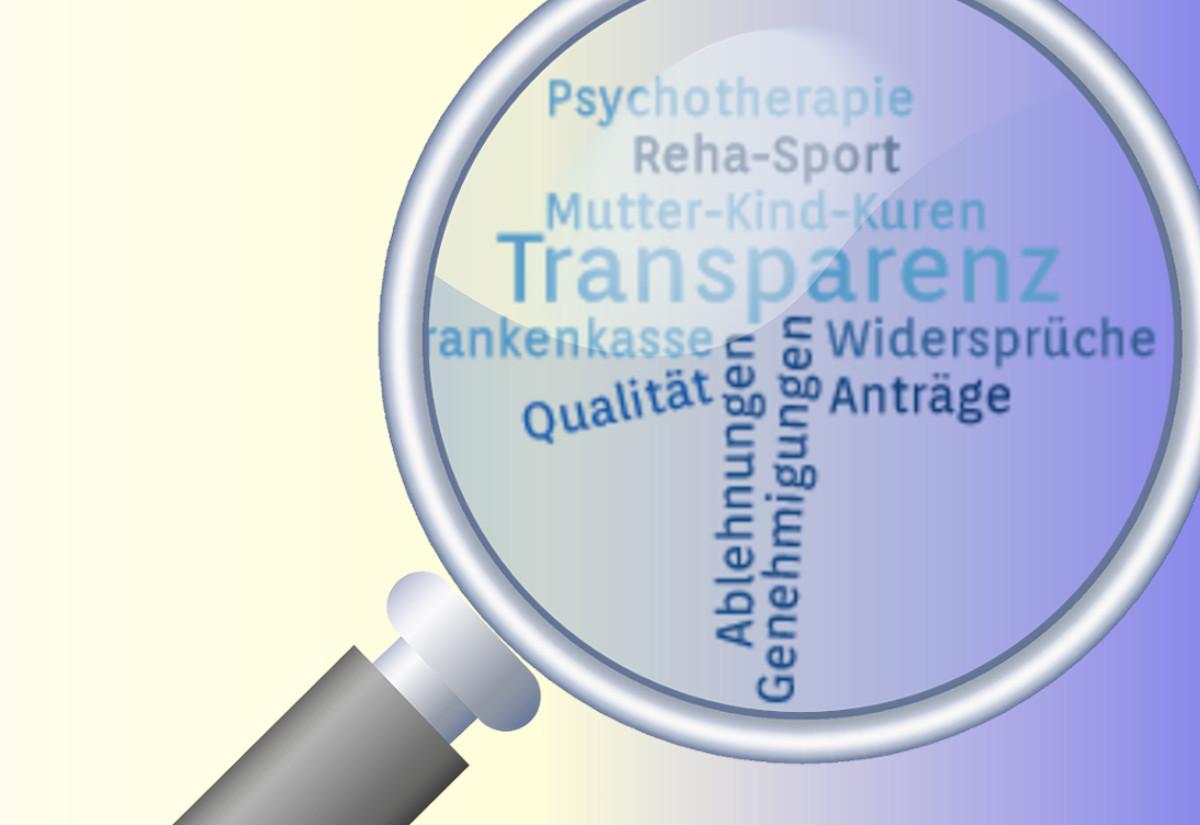 Transparenz bei Qualitätsdaten von Krankenkassen