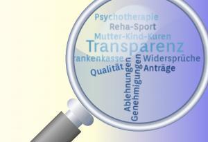 Transparenz bei Qualitätsdaten von Krankenkassen,