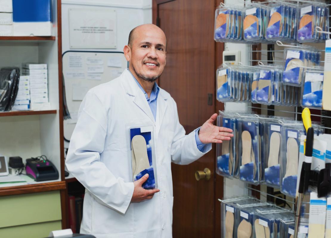 Orthopädische Einlagen sind im Hilfsmittelverzeichnis gelistet