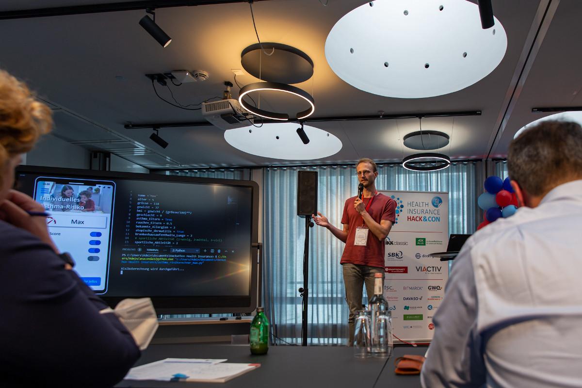 Krankenkassen-Hackathon 2021
